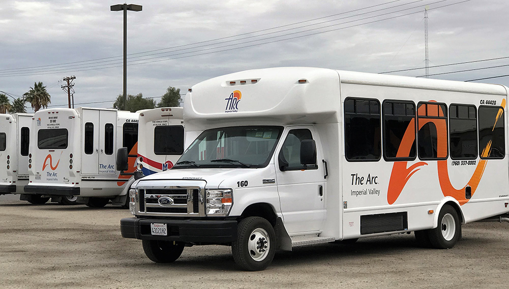 ARC Imperial Valley busses