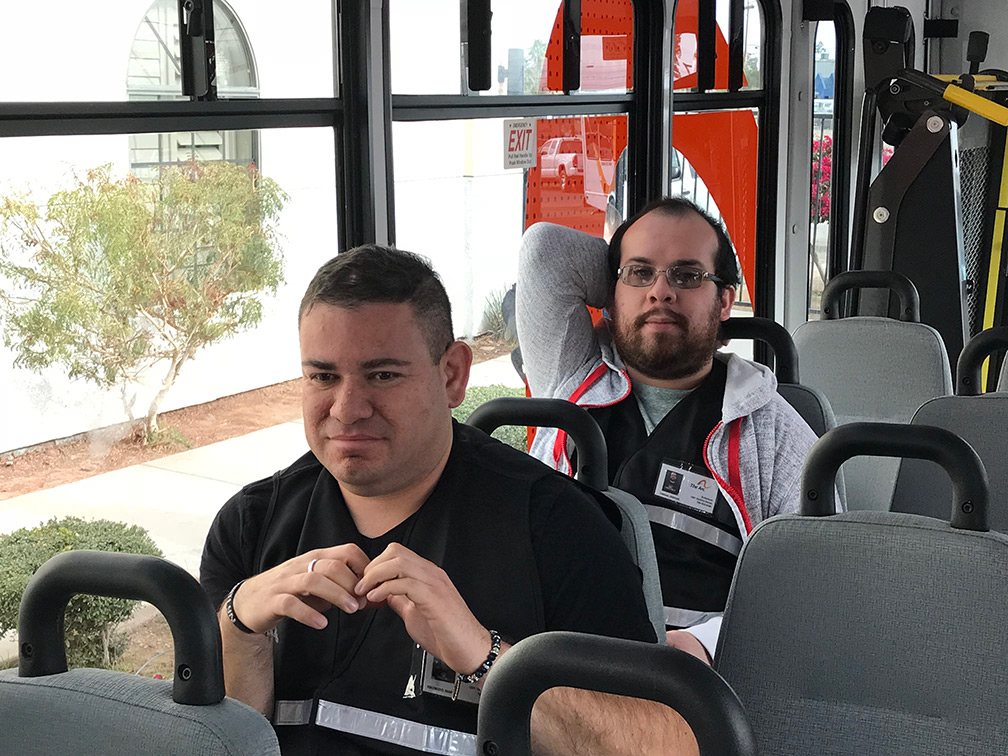 ARC Imperial Valley bus passengers
